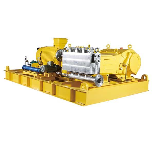 Poweroyal positive-displacement reciprocating pump