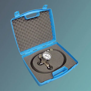 Accessory For Charging, Purging And Verifying The Pressure