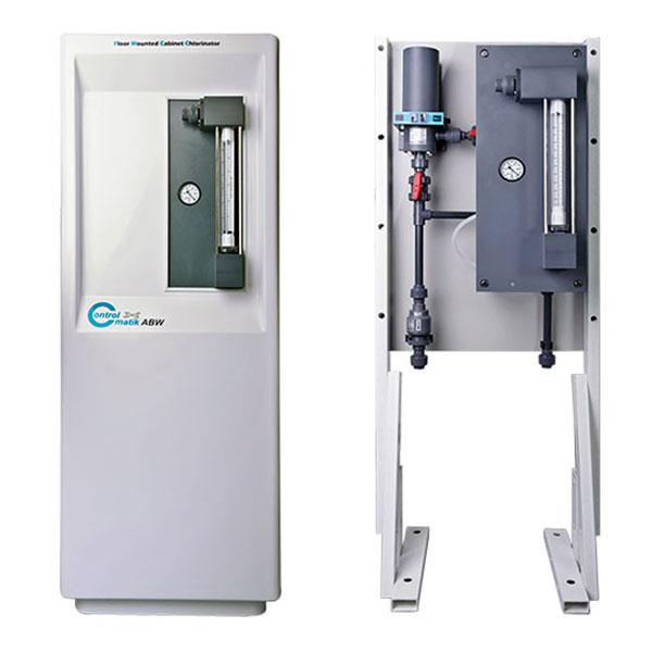 Floor mounted chlorinator unit MR 520 C, MR 540 C, MR 550 C