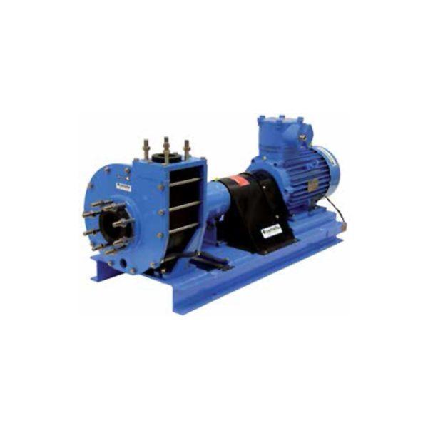 Horizontal plastic vortex pump