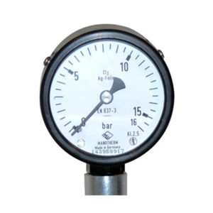 Pressure and vacuum gauges