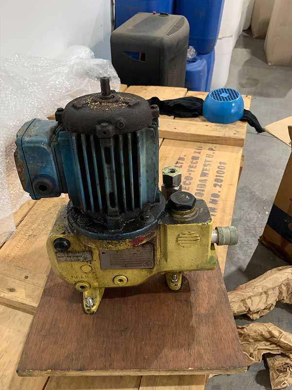 Refurbished pump before
